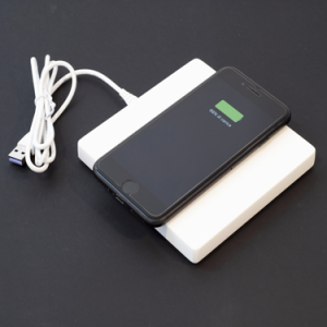 POSO SOLO smart QI charger pad bianco
