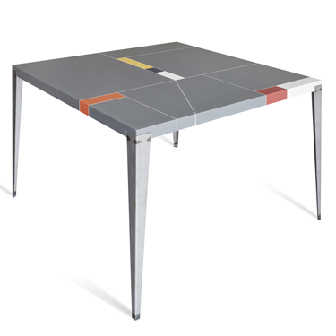 Tzero.4 tavolo 120x120
